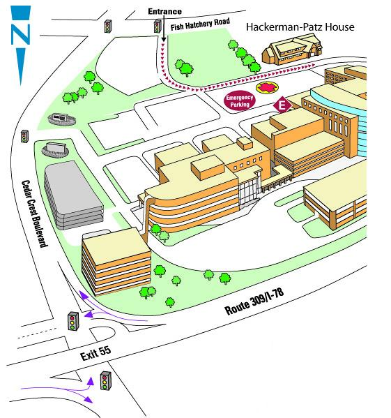 Map And Directions Lehigh Valley Health Network A