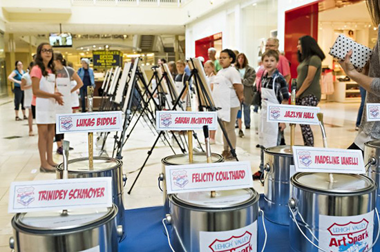Community Canvas Finale at Lehigh Valley Mall