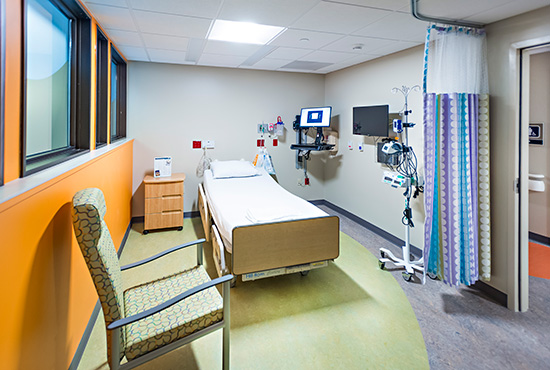 Private infusion room