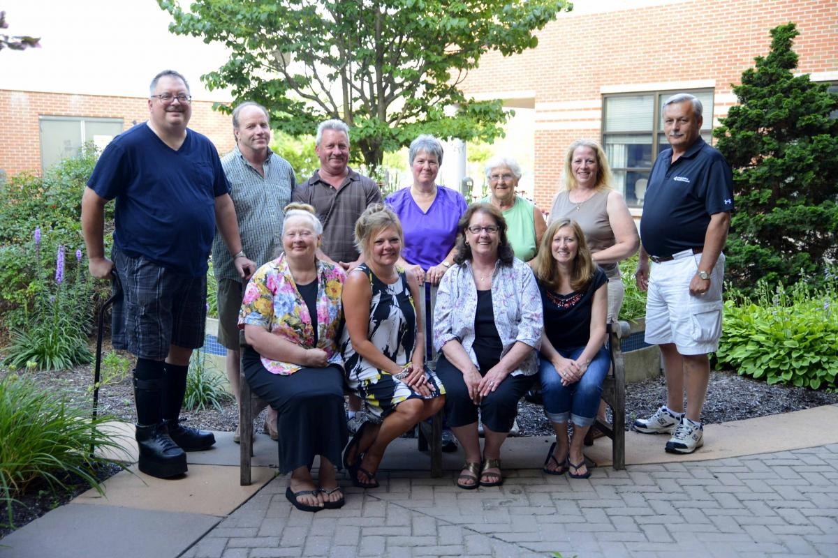 Members of the 2015 volunteer Summer Festival Board, who plan, manage and operate the Summer Festival.