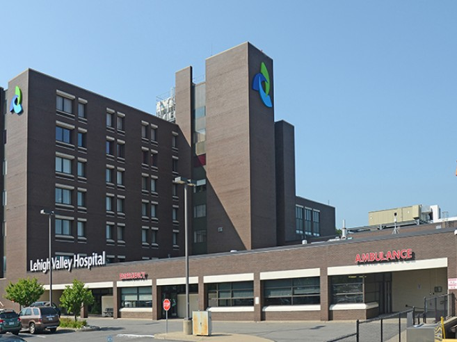 Exterior of Lehigh Valley Hospital–Hazleton