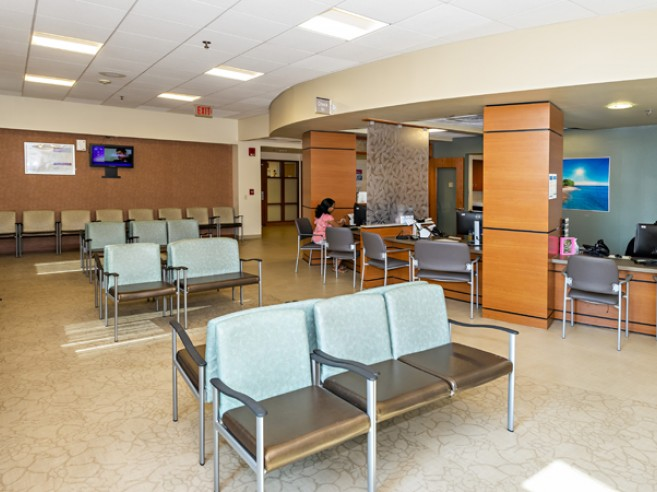 Center for Women's Medicine, located on the first floor at Lehigh Valley Hospital–17th Street