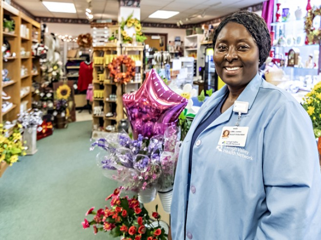 You will be greeted by a friendly volunteer at the gift shop at Lehigh Valley Hospital–Schuylkill E. Norwegian Street