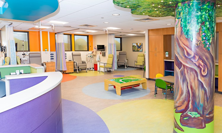 Children's Cancer Center at Lehigh Valley Reilly Children's Hospital, first floor of the 1210 building, Lehigh Valley Hospital–Cedar Crest