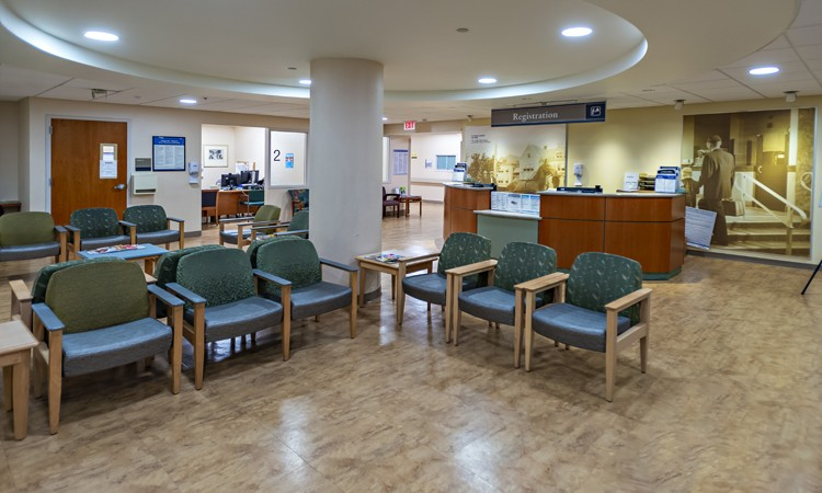 Diagnostic Care Center, located on the first floor at Lehigh Valley Hospital–17th Street