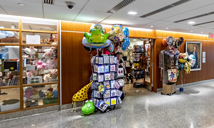 Tree Top Gift Shop at Lehigh Valley Hospital–Cedar Crest, located on the first floor of Pool Pavilion