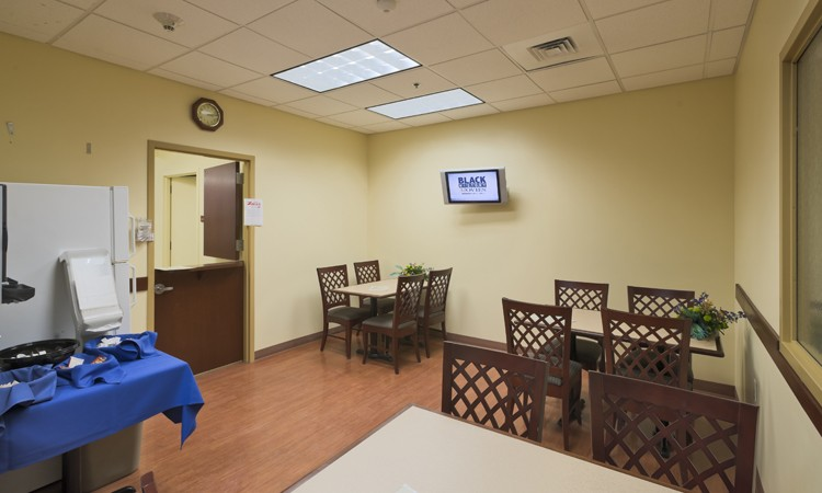 Café at the Center for Orthopedic Medicine, located in the 4815 building at LVHN–Tilghman