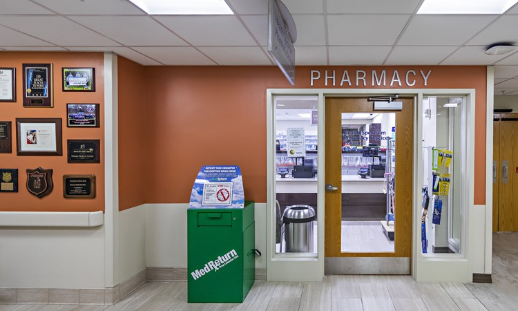 Lehigh Valley Pharmacy Services, located on the first floor at Lehigh Valley Hospital–Pocono