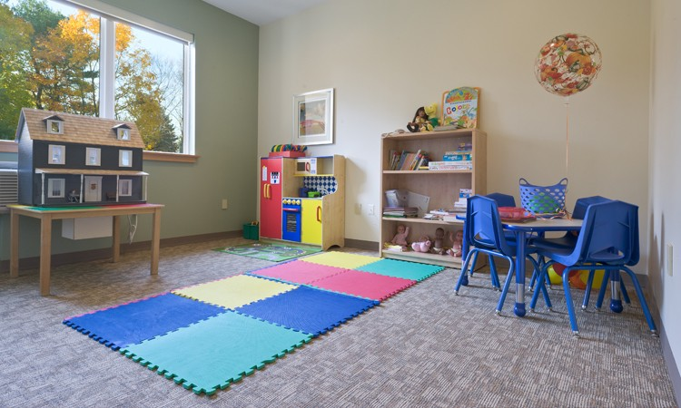 Play room, Hackerman-Patz House