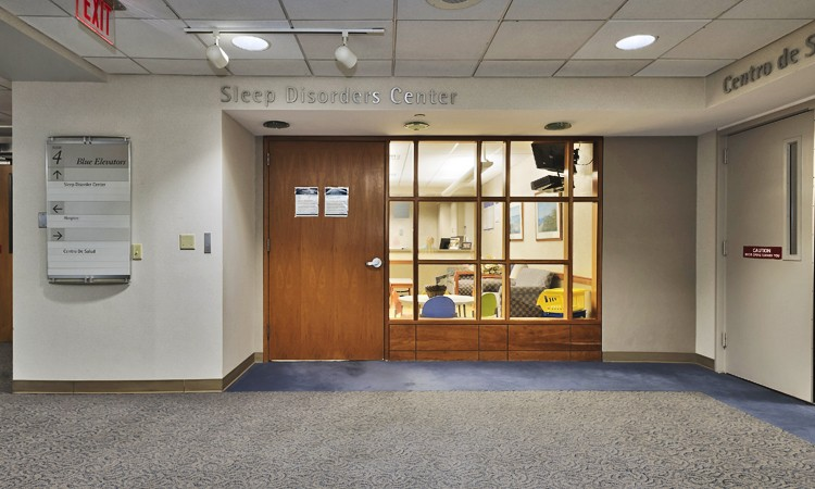 Sleep Disorders Center, located on the fourth floor at Lehigh Valley Hospital–17th Street