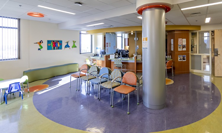 Waiting Room at Children's Clinic, Lehigh Valley Health Network