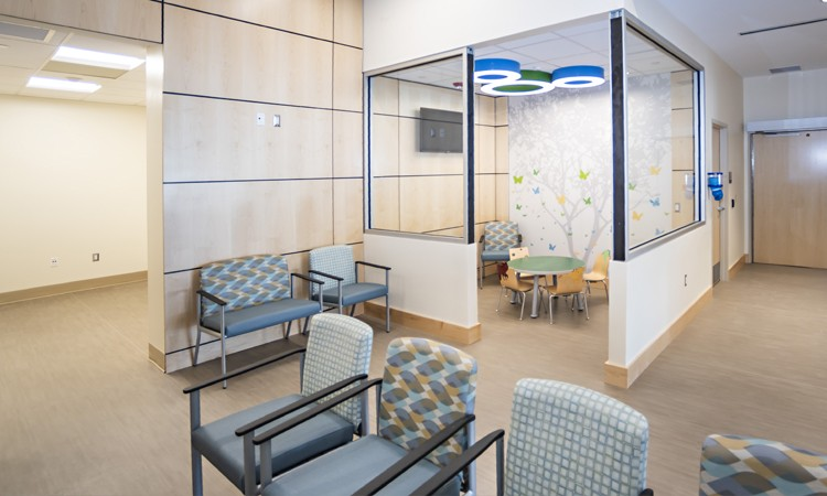 Lehigh Valley Hospital–Hazleton ER lobby
