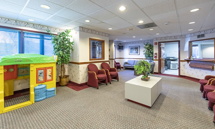 LVPG Cardiology-Phillipsburg waiting room
