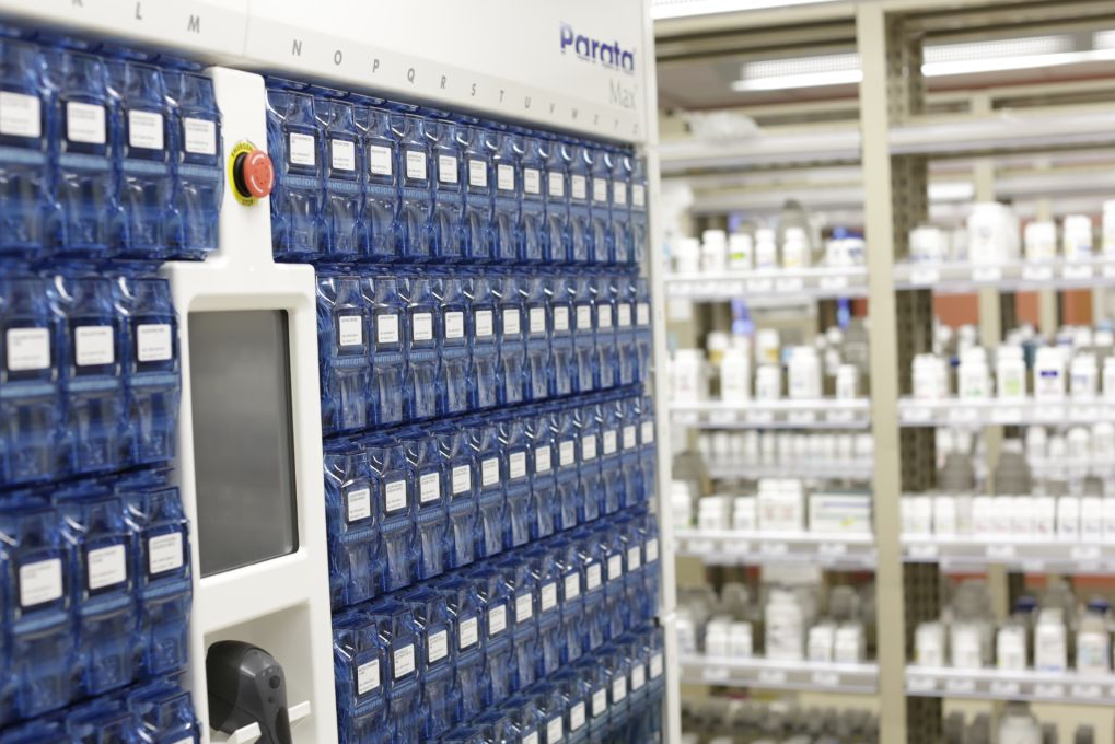 Parata Max速 Robot Enhances Pharmacy Efficiency Lehigh