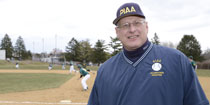 Randy Seltzer, high school baseball umpire