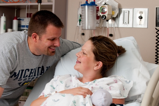 Congratulations on your new baby! After recovery, you will be transferred from the Labor/Delivery suites to the Mother/Baby Unit for the remainder of your stay where family and friends may visit you and your new baby. Remember, rest is the most important part of your recovery!