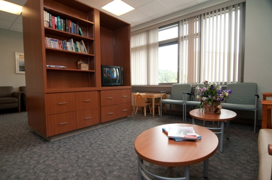 There is a family room on the Perinatal Unit where family members may visit.