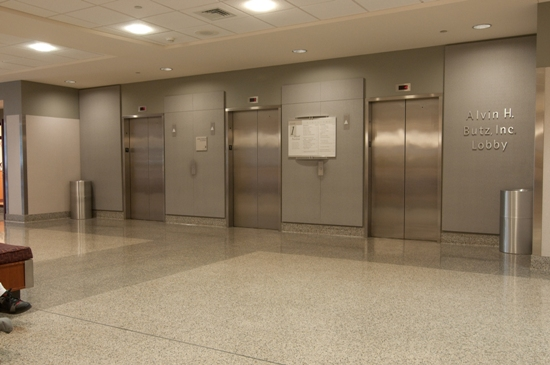 The elevators in the Fred Jaindl Family Pavilion will take you to Labor/Delivery.